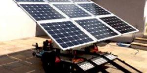 Microgerador Fotovoltaico | Energia limpa para eventos